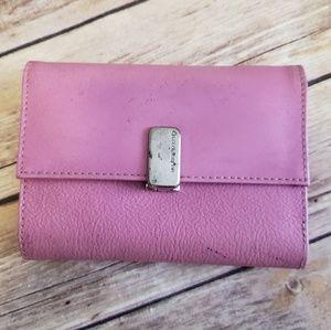 💛FREE w/ purchase Liz Claiborne pink wallet